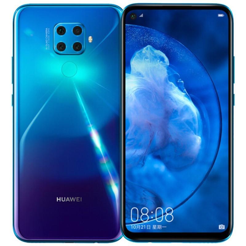 "Оригинальный Huawei Нова 5Z 4G LTE сотовый телефон 6GB RAM 64GB 128GB диск Кирин 810 окта Ядро Android-6,26"" FHD 48MP лица ID отпечатков пальцев Мобильный телефон"