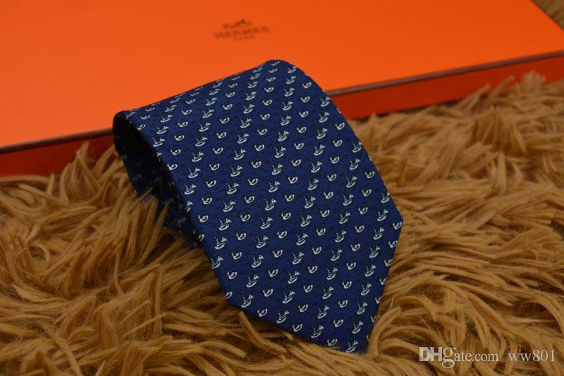 Homens de negócios formal laço de moda do casamento Laços Lazer Magro Laço Limite Seta Gravata Skinny Letter Data Tie Men festa casual Gravatas H9919