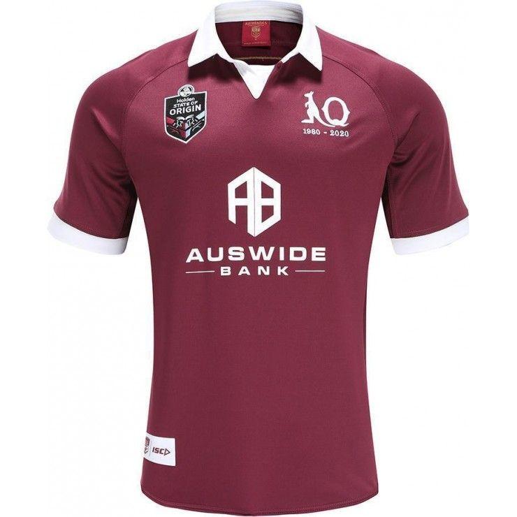 Queensland Maroons 2020 Adultos Super Rugby Jerseys QLD shirt Maillot Camiseta Maglia Tops S-5XL Kit trikot