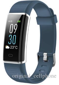 ID130C Smart-Armband Heart Rate Monitor Fitness Tracker Smart Watch GPS wasserdichte intelligente Armbanduhr für iPhone und Android Phone PK DZ09 Uhr