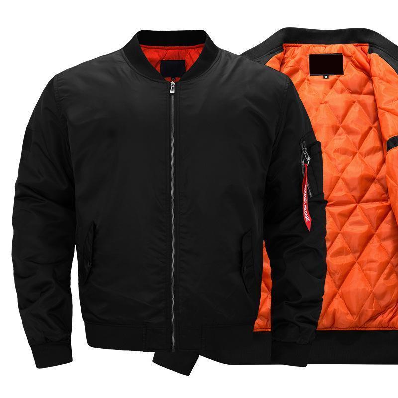 Moda-2018 Moda Kaburga Alt Sarkaç Mens Tasarımcısı ceketler Cep Dekorasyon MA1 Pilot ceketler Gençlik Popülarite Yüz Ceketler Erkekler
