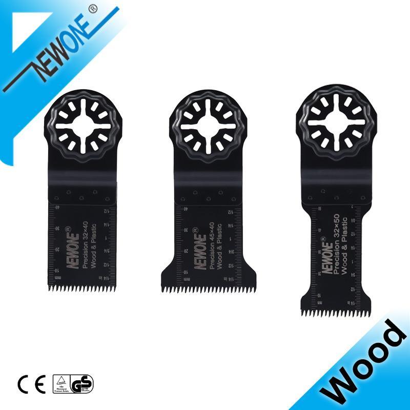 NewOne de précision Starlock Oscillant Lames de scie multifonctions Rénovateur Power Wood outil dents japonaise universelle Lame de scie