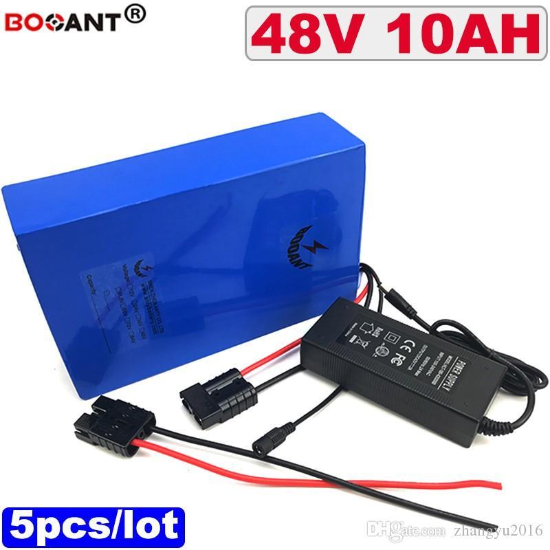 5 pçs/лоте BBSHD 48 в 10Ah батареи батерия де Lítio Recarregável пункт Бафане 250 Вт 500 Вт батерия пилинг получении электрическим током через тело сделать двигатель 13 48 С в Frete безвозмездно