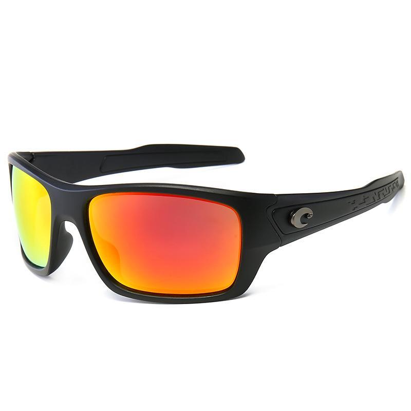 Hombres Nuevas gafas de sol UV400 Le Square Black Lens Color Frame 96006 Blue Top Top Summer Designer al aire libre Avant-Garde Millionaire Calidad XISND