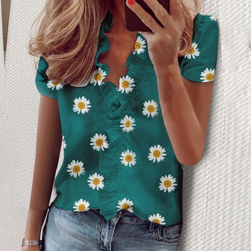 2020 Новых Женщины Блузы Топы Женщина Работа Офис Dot Печати блузка рубашка Повседневная длинный рукав Блуза роковыми режим Blusas Дизайнер Tshirt