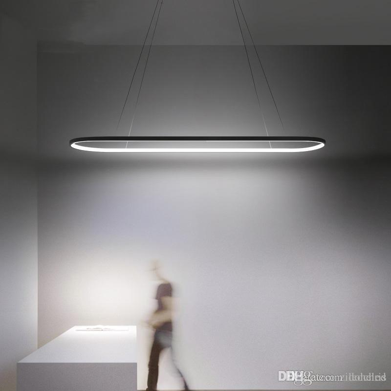 hat armatürleri modern kolye ışık LED kolye lamba kolye yemek oturma odası yatak odası mutfak salon için abajour