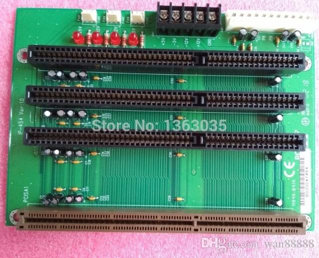 100% Tested Work Perfect for P-4S4 industrial 1 PCISA 3 ISA slot backplane board