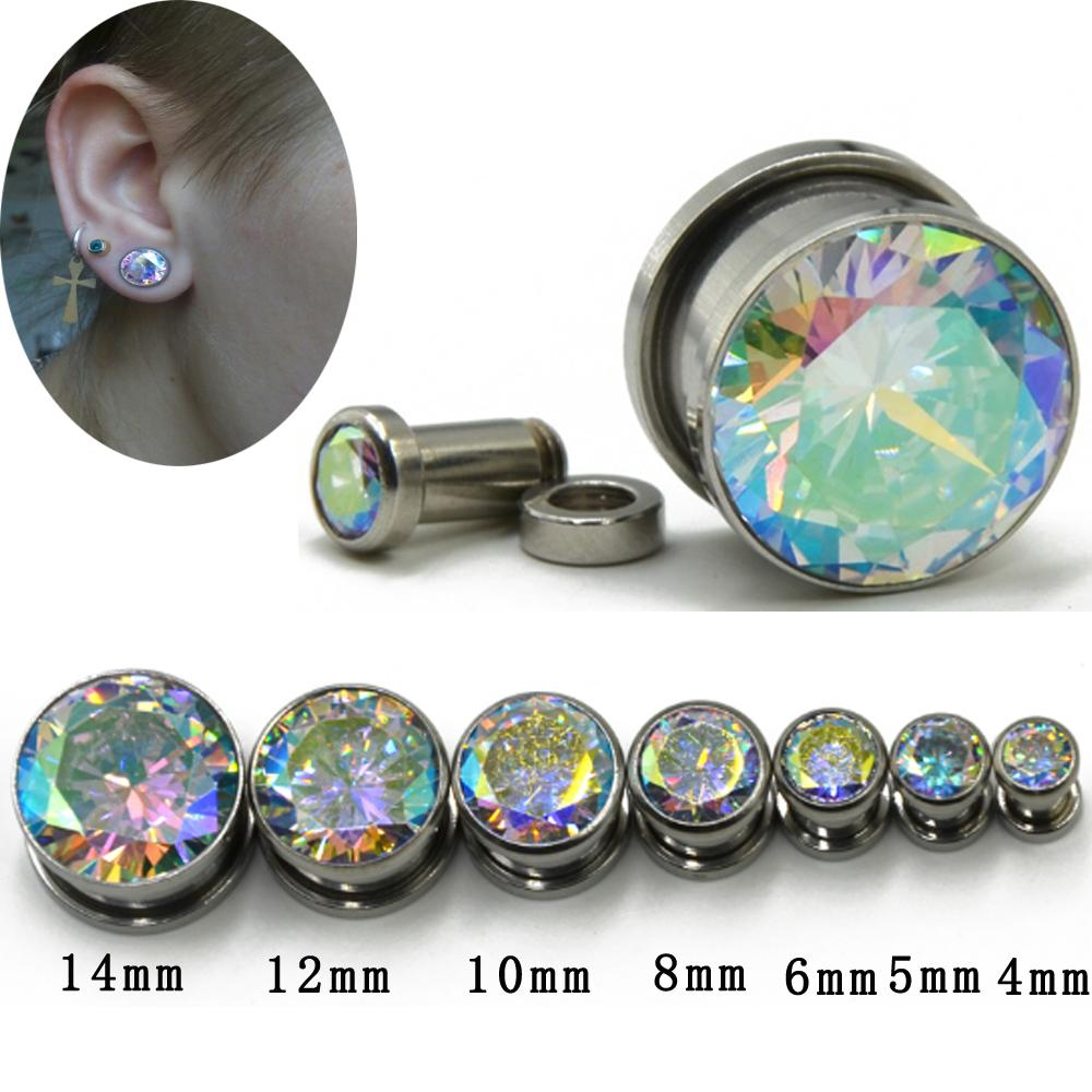 Ear Plugs Screw To Fit Earliest With Gem Gauges