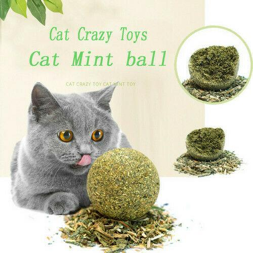 Catnip Toys Mint Ball Catnip Ball Playing Toy Supplies Pet Toy Product