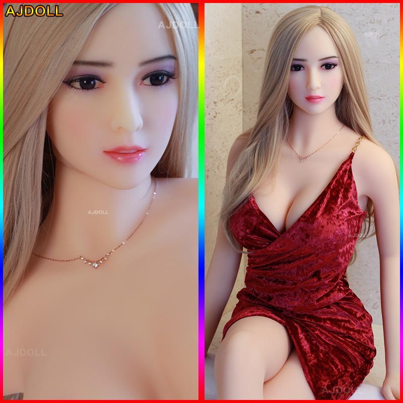 158cm japanische Naturgetreue Top-Qualität Silikon-Geschlechts-Puppe für Männer Real Love DollBig Brüste Real Love Puppe Oral Anal Muschi Adult Sexy Puppe