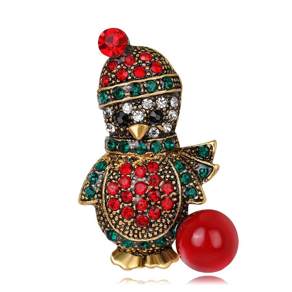 بروش أزياء الكرتون البطريق في أوروبا والولايات المتحدة الأمريكية بروش بيع بروش سبيكة الماس بالجملة