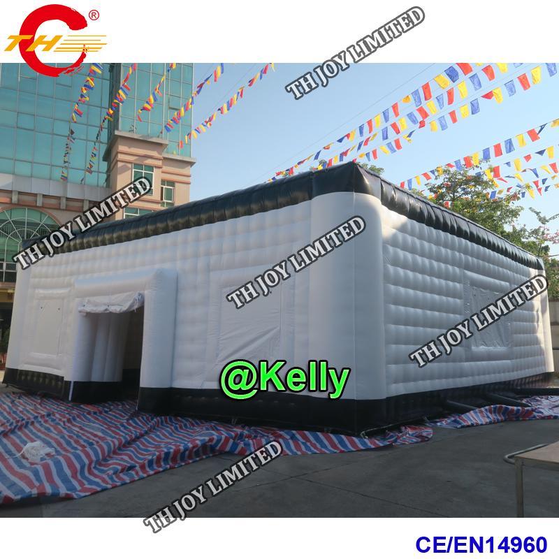 tenda gonfiabile gigante di trasporto libero per la vendita, tenda quadrata gonfiabile impermeabile del telone impermeabile del PVC per gli eventi del partito