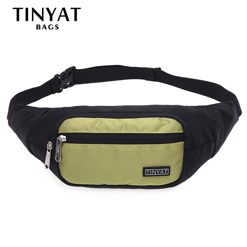 Tinyat мужская талия сумка пакет кошелька телефона пакет пояса женщины пояса сумка холст для путешествий сумка случайные для мужчин водонепроницаемый бедро bebqj