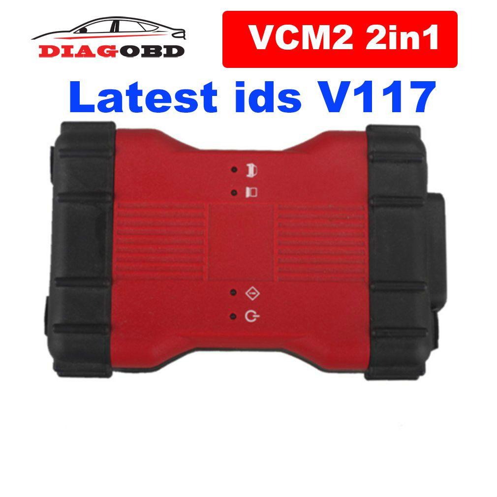 2020 Latest VCM2 V117 For Ford VCM IDS,For Mazda VCM IDS 2 in 1 OBD Scanner Multi Lanugage VCM II IDS V116 Diagnostic Tool