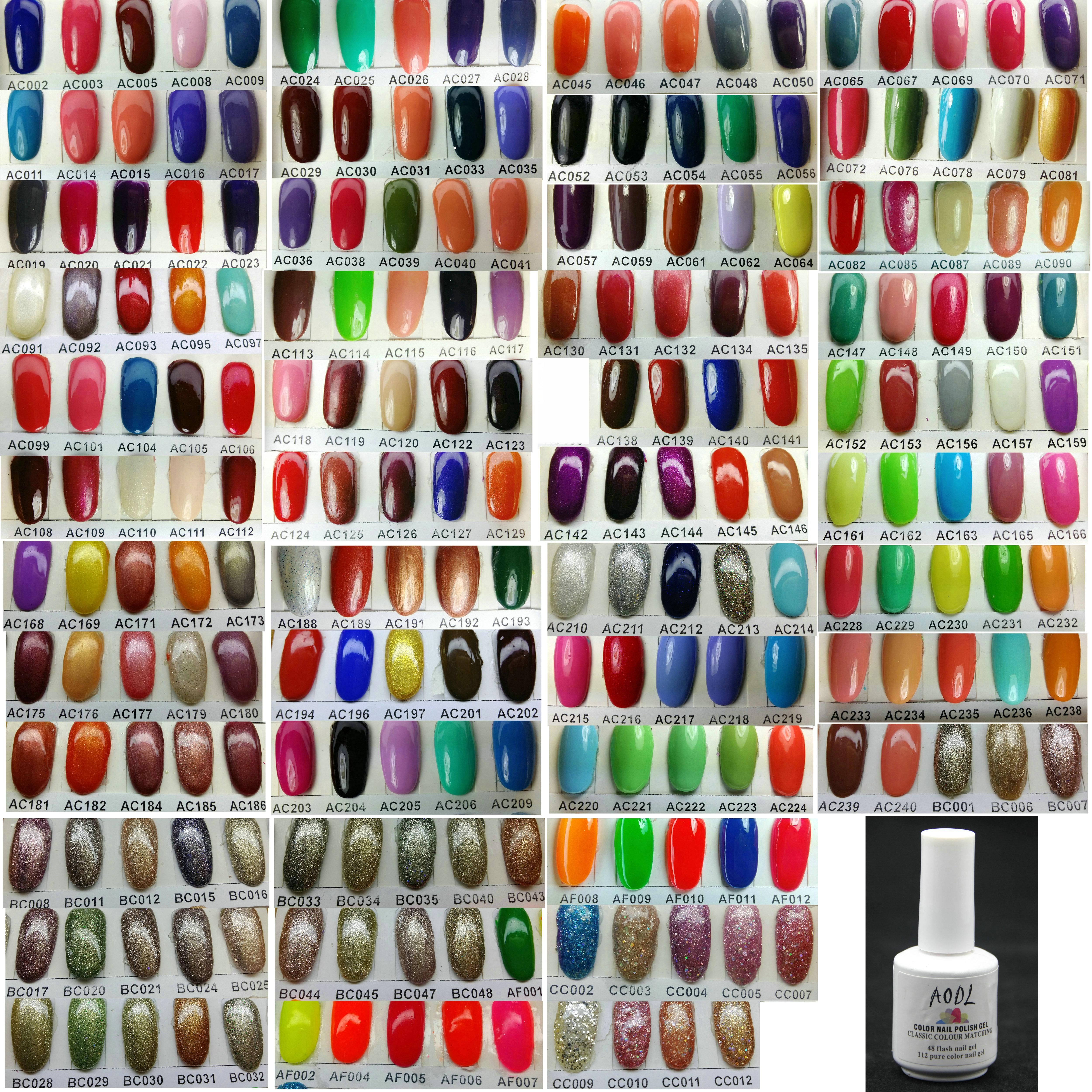 *고품질*새로운 버전 6 15ml5 온스 순수한 흡수 색상 UV 젤 폴란드어 네일 아트 LED 젤 건강*223 색상 선택될 수 있습니다*