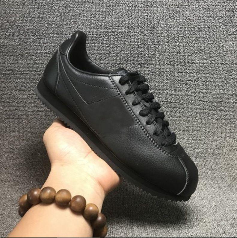 Die besten neuen Cortez Schuhe der Frauen der Männer beiläufige Schuhe Turnschuhe billig sportlich Leder original cortez extrem Moiré Wanderschuhe Verkauf 36-45 laufen