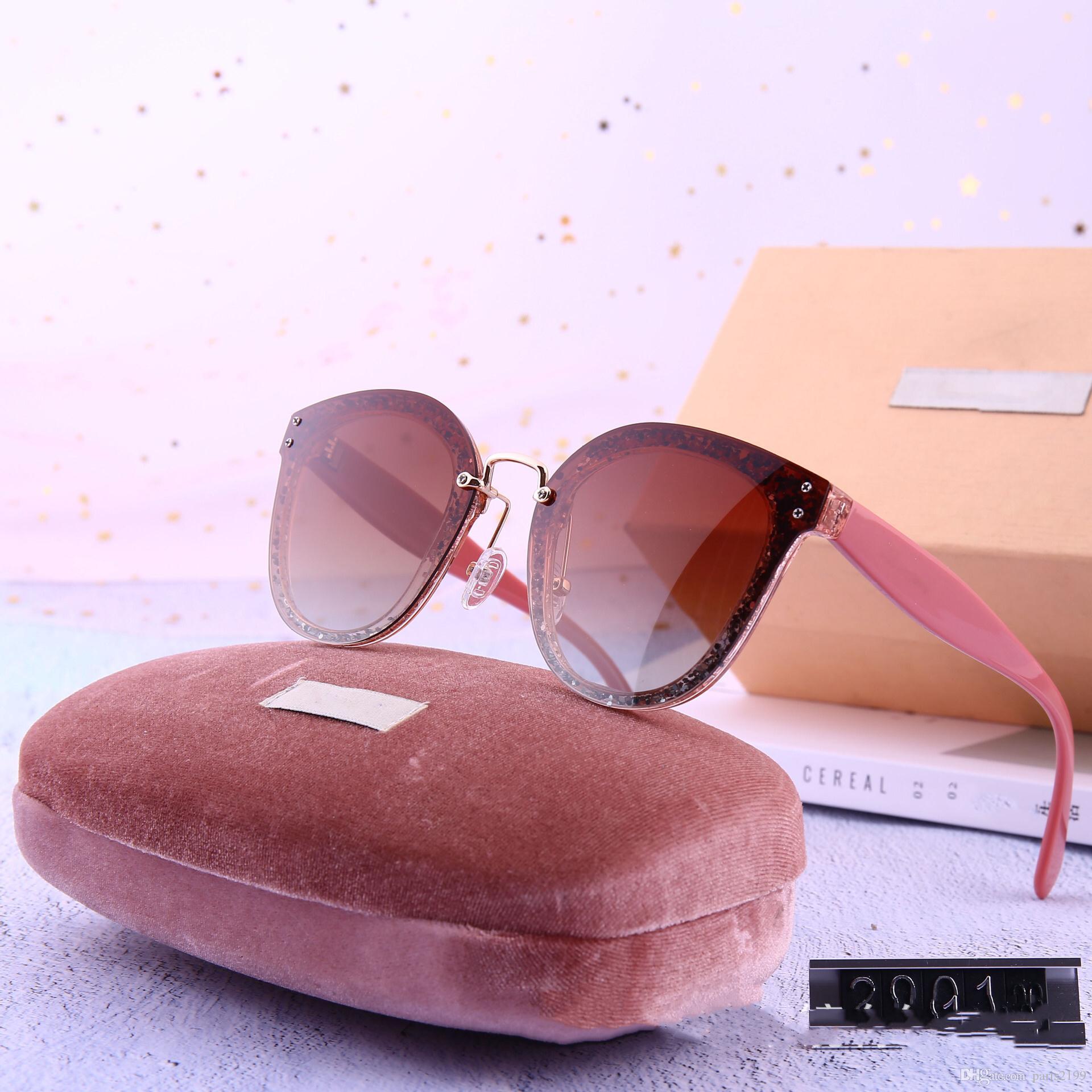 높은 품질의 패션 새로운 여름 여성 유리 UV400위한 선글라스 Adumbral 편광 전체 프레임 안경 선글라스 여자