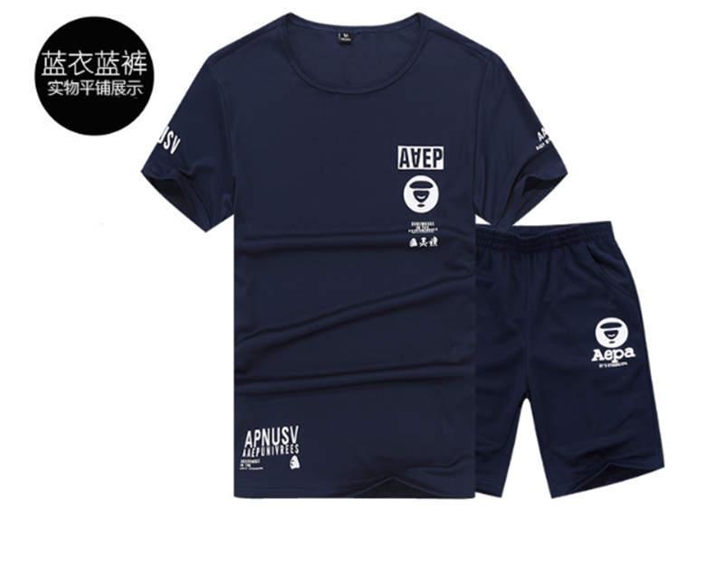 Femmes designer Tracksuit T-shirts + Short Summer Marque Shaksuits Joggers T-shirts de luxe Convient aux T-shirts respirants imprimés2