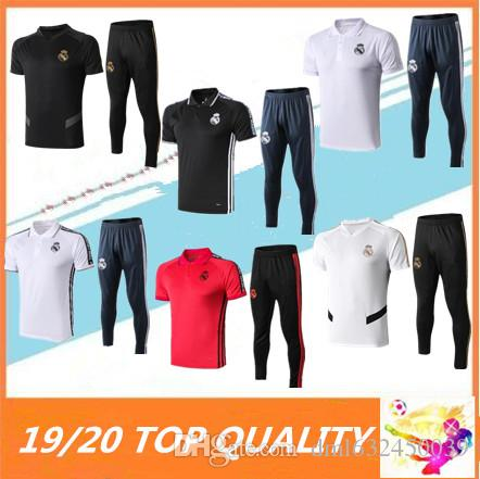2019 2020 Real Madrid polo Camisolas De Futebol 19/20 de camiseta de futbol BENZEMA MODRIC ISCO real madrid survêtement camisas de futebol