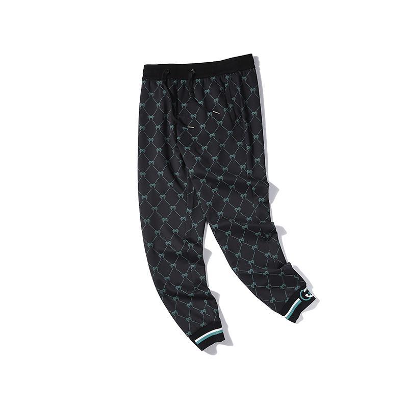 Para mujer para hombre Brandpants Designerpants Moda elástico de la cintura del patrón de lujo pantalones largos pantalones animal libre de envío 2030301Q