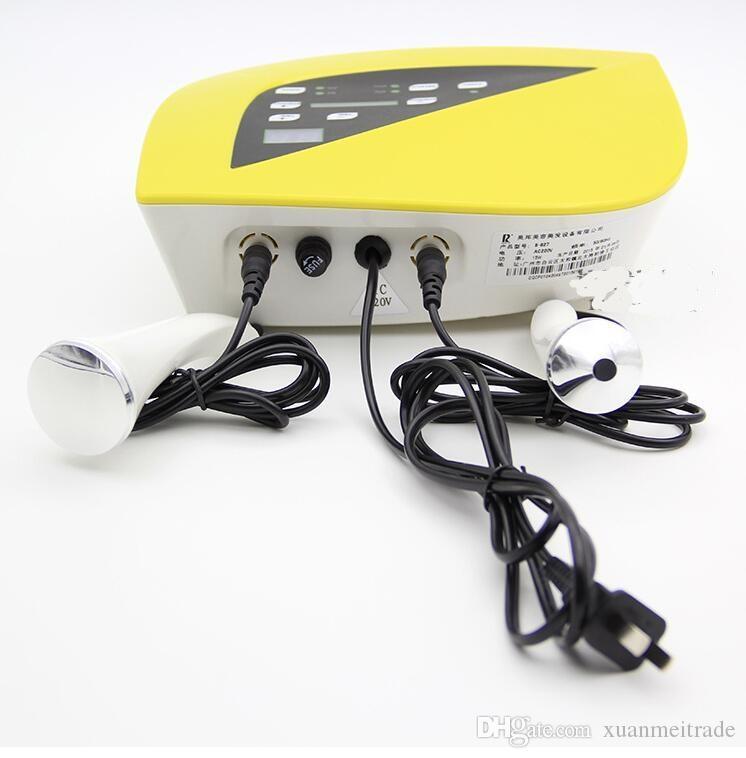 220v Ultrasonic Facial Massager Ultra-som de Máquina Início Cuidados com a pele anti-rugas Envelhecimento Spa Salon Home Beauty dispositivo de instrumento