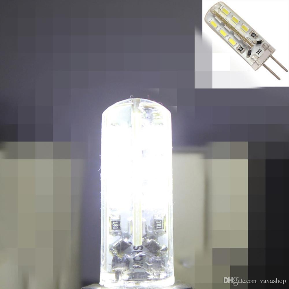 OMTO LED G4 لمبة الذرة المصغرة DC12V AC / DC12V 220V 24LED استبدال مصابيح الهالوجين