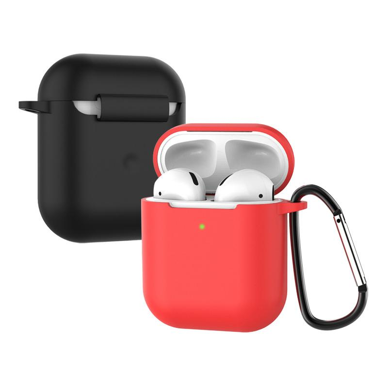 Soft Silicone Case for AirPods 2nd Shockproof Cover for Apple Air Pods 2 Earphone Cases for Air Pods Protector Case