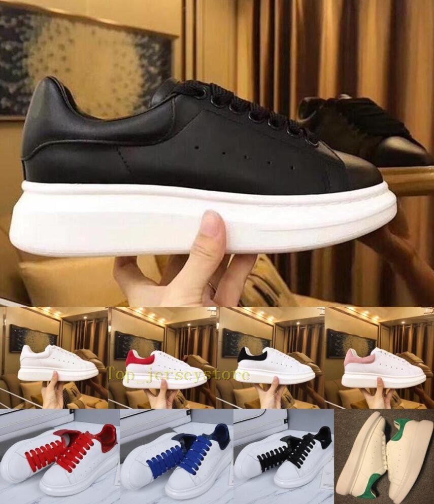 Com caixa de luxo reflexivos homens couro genuíno mulheres casuais mens sapatos mulheres Triplo Preto Plataforma Iridescent Branco Laser de designer sneakers