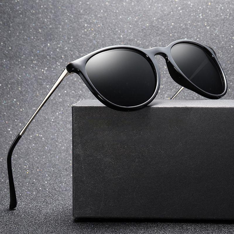Clásico de los hombres gafas de sol polarizadas Europea y señora tendencia de la moda americana sunglasses 4171 estrellas con vasos grandes con marcos