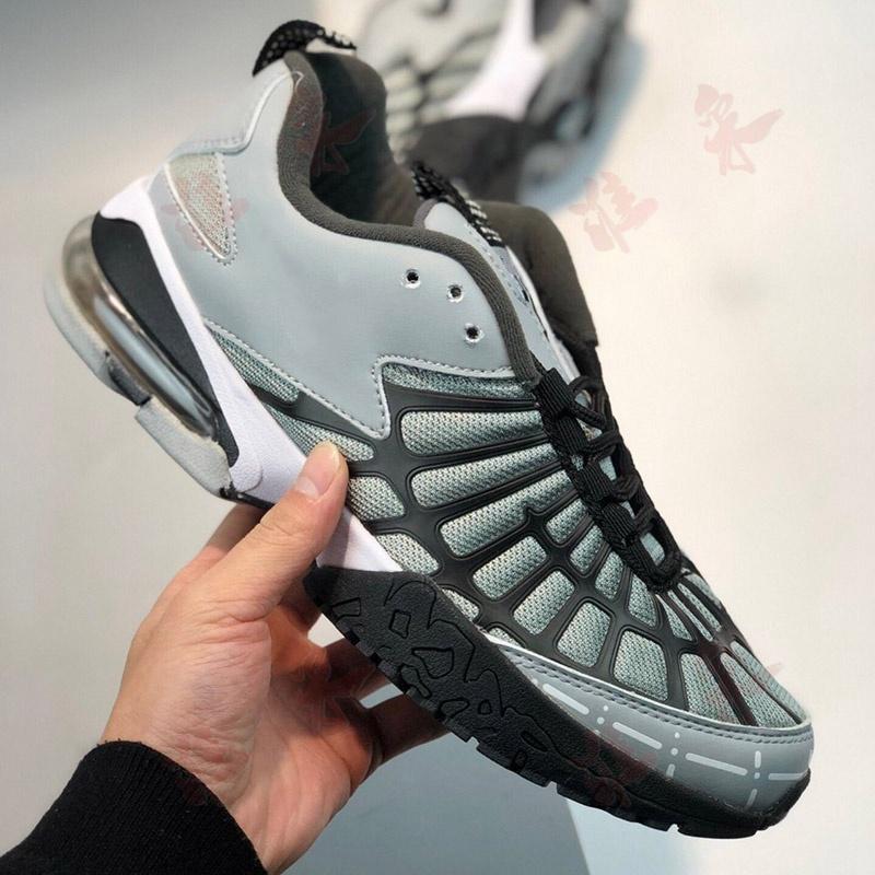 funcionamiento del baloncesto entrenador de lujo triples tenis de lona para hombre gris naranja negro cojín anti-desgaste zapatos 01L CT10 correr