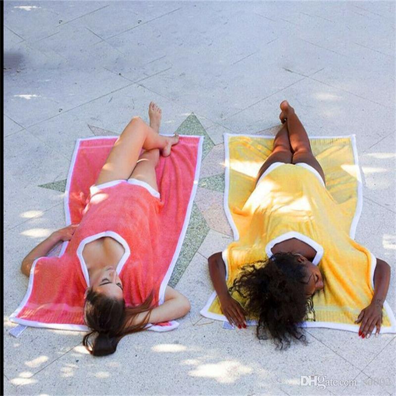 ساندي بيتش towelkini منشفة بطانية مكافحة السمط مناشف الوسادة الأزياء حصيرة reusable الساخن بيع مع جودة عالية 28jd j1