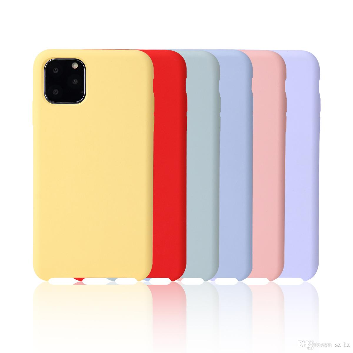 Silicone Soft Cover iPhone 6 6s 7