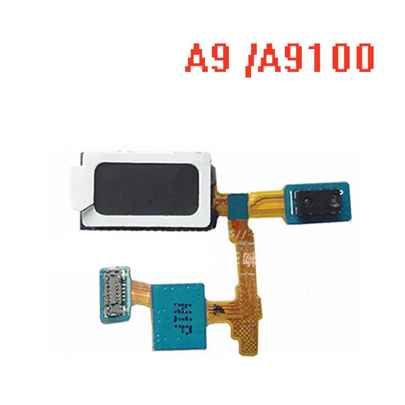 Samsung Galaxy Note A9 A910 A910F A9000 A9 yanlısı A9100 için Yakınlık sensörü Flex Cable Orijinal Kulaklık Hoparlör