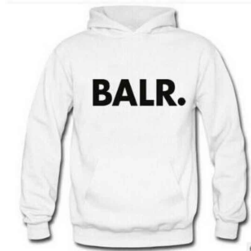 NEW 2020 Marke Men BALR Printed Fleece Pullover Frühlings-Herbst-Winter-lange Sleeved mit Kapuze Oberseiten-beiläufigen Hip Pop Pullover Punk Herren Sportswear