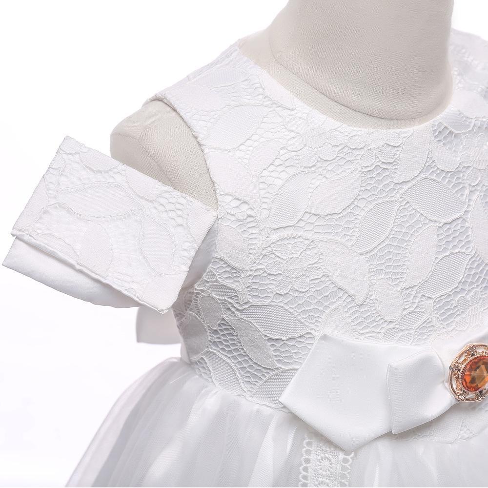 Vestido de novia de gama alta de los niños del vestido de noche del vestido del florista presidido Pasarela vestir a las niñas