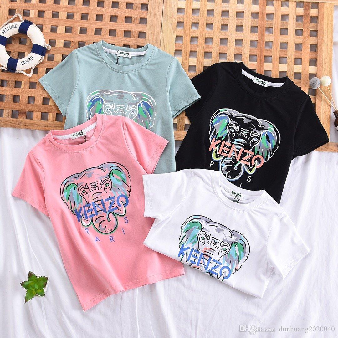 الموضة تشترك في الحب أطفال Tees Boys o-neck Short Skies T-shirt Girls Fashion Style Street Toups Soft Tshanks