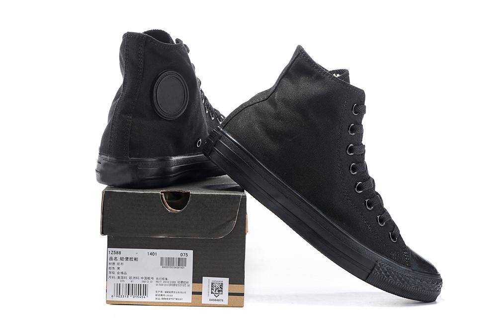 2020 étoiles mode Brand New 1970s All Star Top Low Top noir classique Chaussures de toile de planche à roulettes Sneakers Hommes Femmes Designer Casual Sf5d1 #