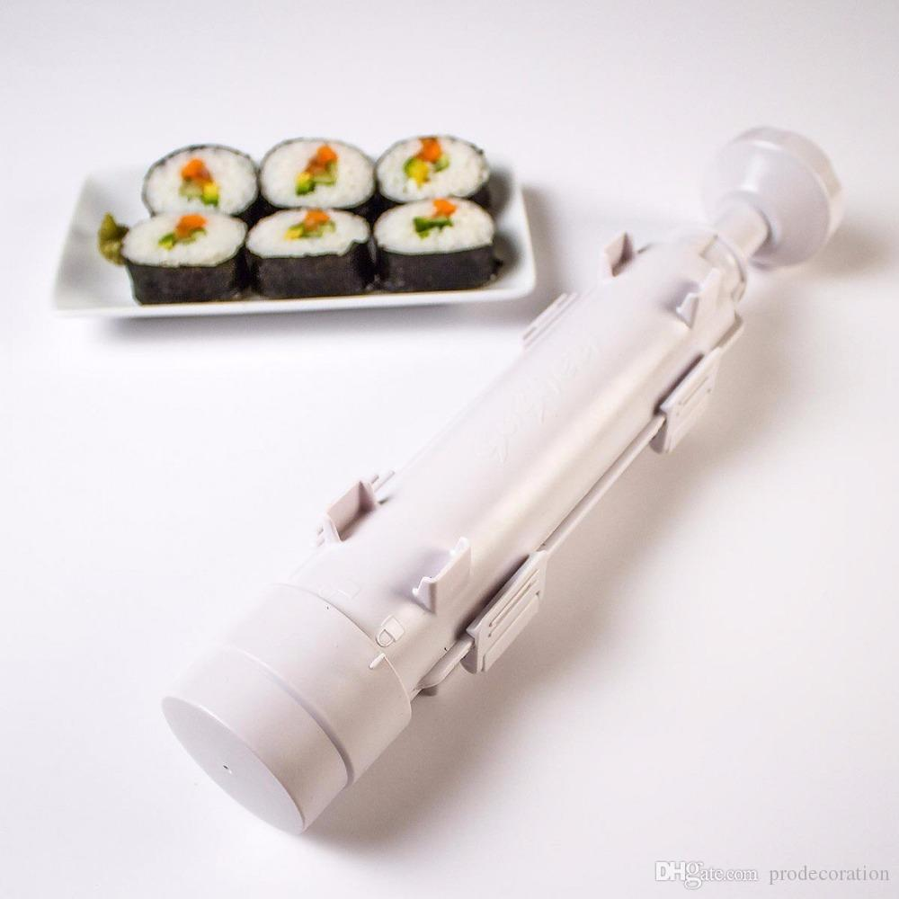 Sushi Maker Roller Roll Mold Roller Bazooka Rice Meat Vegetables DIY Sushi Making Machine Kitchen Sushi Tools