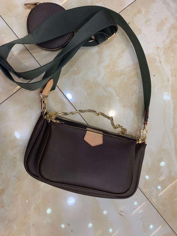 Designer Cruz saco de corpo de metal saco da letra frente bolsa de grife de luxo mulher bolsa meessnger couro ombro 2020 novo estilo