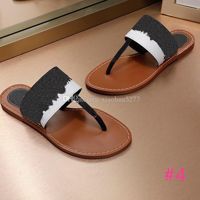 2020 Роскошных дизайнерских сандалии женщин сандалии причинного летних тапочки флип-флоп тапочек плоского размера обуви 35-42 песчаной с коробкой.