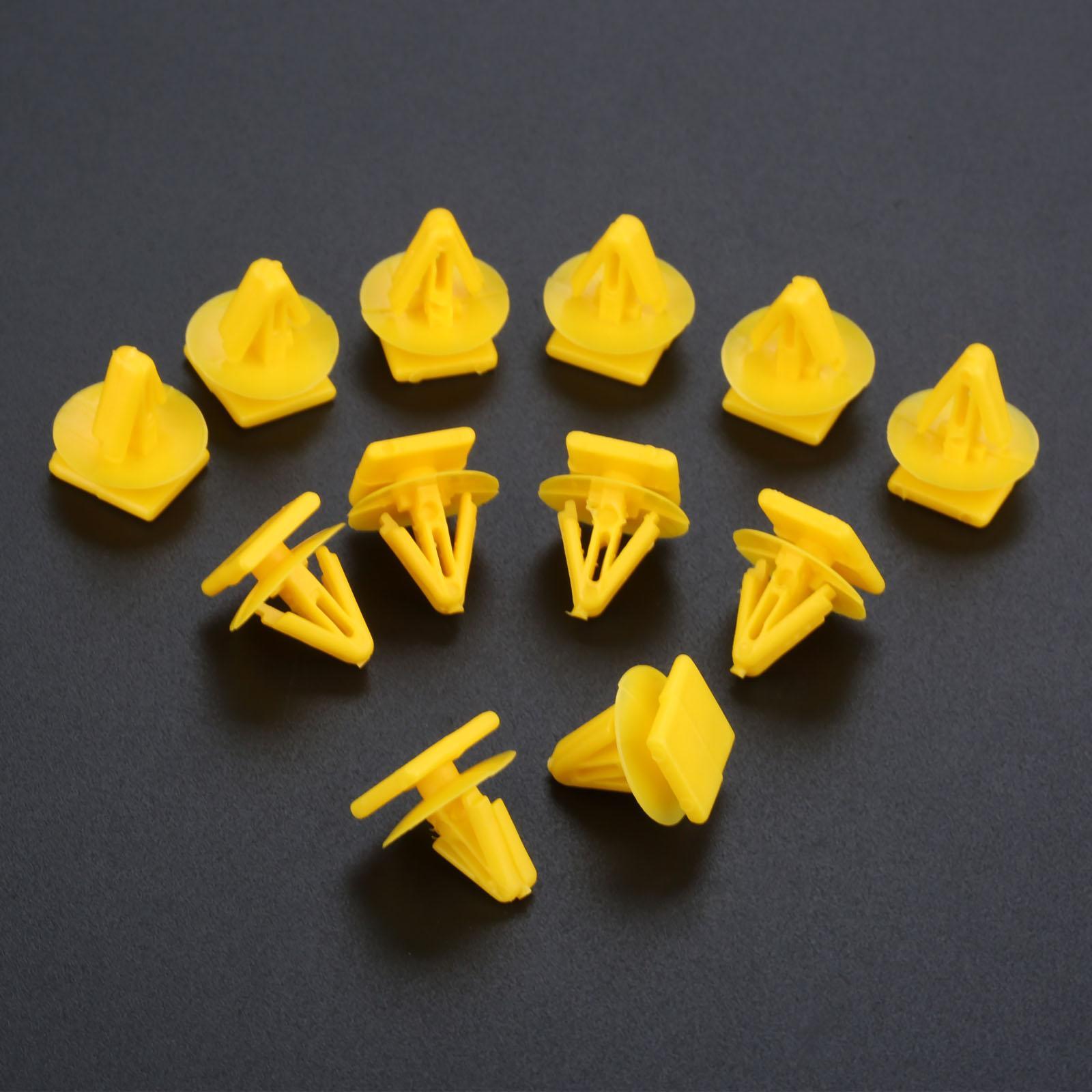 Intérieur Accessoires Auto clip 50PCS D178 voiture porte Planche Fastener plastique fixe Clamp intérieur panneau de garniture clip Auto Fastener 11mm