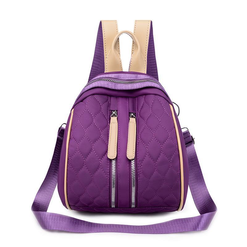 Casual con la bolsa de mochila Work Shell Fashion New Spiraea Hombro Diamond-Quilted 2020 Mujeres Tres Glnxe Bag Simple Hombro BWGGM