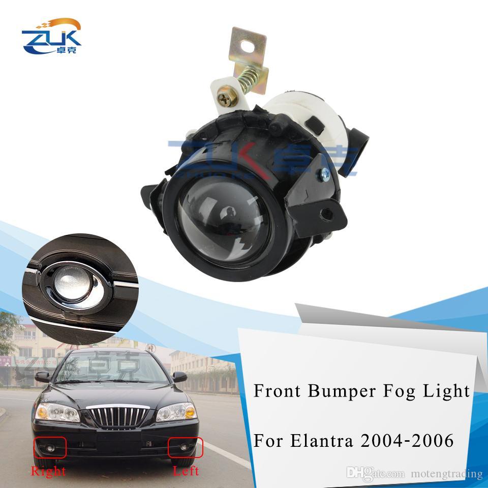 Sürüş Lambası Foglight İçin Hyundai Elantra 2004 2005 2006 FogLamp DRL Buğulanmaz Işık Koşu ZUK Ön Tampon Sis Işık Gündüz