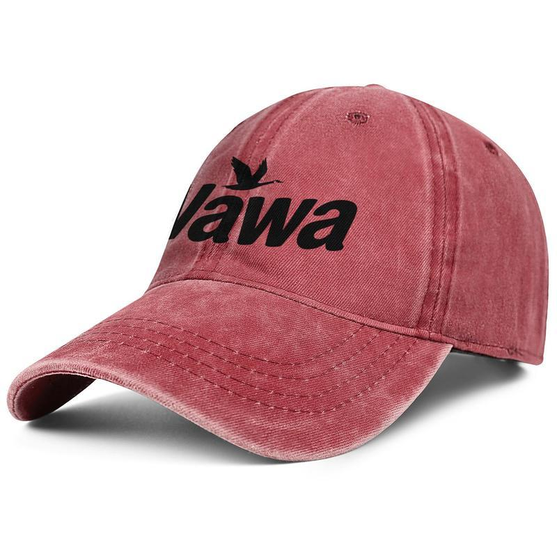 Für Männer und Frauen wäscht Vintage Denim Hut Adjustable Wawa Logo-kundenspezifische flachen Luxus Dad Hüte im Freien