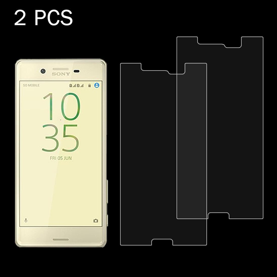 Screen Protector Film 100 PCS for Sony Xperia X Performance 0.26mm 9H Surface Hardness 2.5D Explosion-Proof Tempered Glass Screen Film Tempered Glass Film
