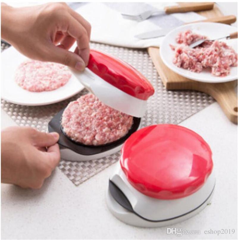Hamburger Patty Maker Burger Press Cotolette Press regolabile 1/4 lb e hamburger di carne manuale 1/2 lb tortini creatore cucina muffa della pressa