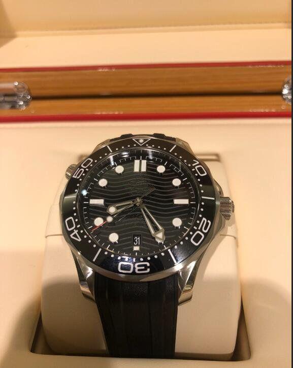 뜨거운 판매 고품질 남성 시계 남자 기계 자동 스테인레스 스틸 시계 손목 시계 187 시계