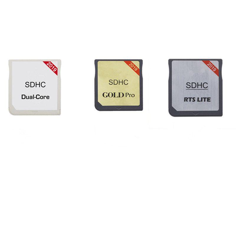 R4 SDHC الذهب برو، ثنائي النواة، RTS LTE، WIFI R4 SDHC RTS، الذهب النبض فلاش محول بطاقة لكيت NDS 3DS