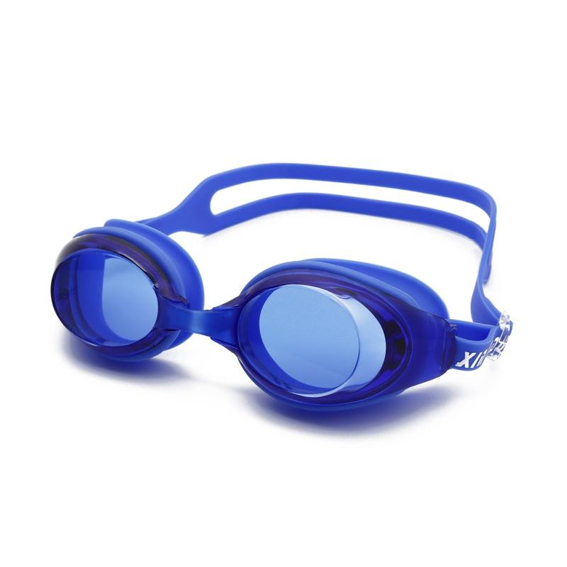 Adult Men Women's HD flat light silicone swimming goggles anti-fog waterproof Frame Pool Sport Eyeglasses Waterproof Spectacles