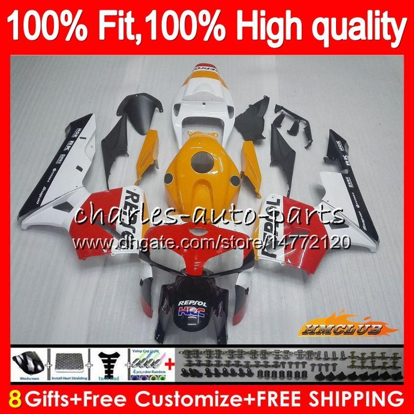 molde de inyección Repsol rojo nuevo para HONDA CBR600RR CBR600 RR 2005 2006 80HC.36 CBR600F5 CBR 600RR 600F5 05 06 CBR 600 RR F5 05 06 carenado OEM